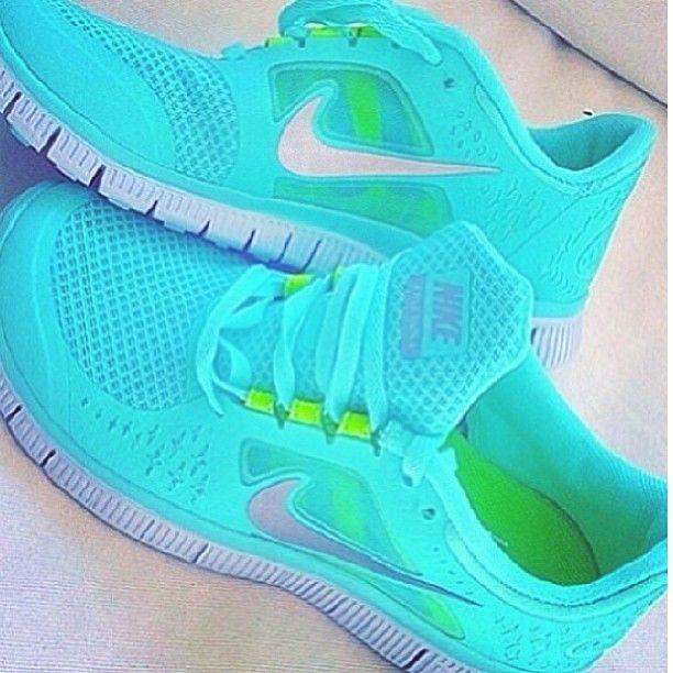 Nike Free Run 3 Womens Turquoise
