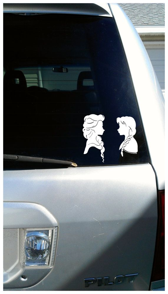 Best Car And Laptop Decals Images On Pinterest Princess - Family car sticker decalsbest silhouette for the car images on pinterest family car