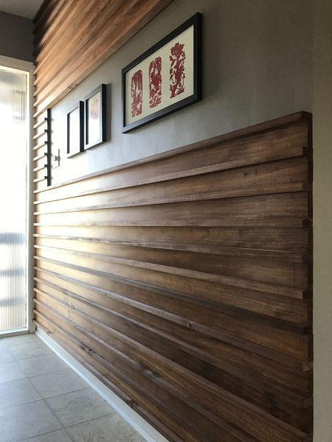 Wood Slat Wall