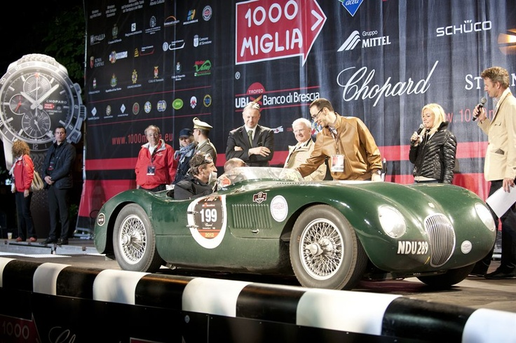 Jaguar Heritage Racing @ Mille Miglia 2012 #Jaguar #MilleMiglia