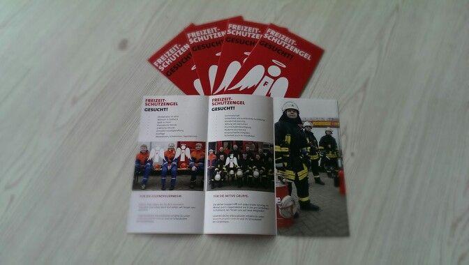 6-seitiger Folder für die Feuerwehr Hille / Löschgruppe Eickhorst