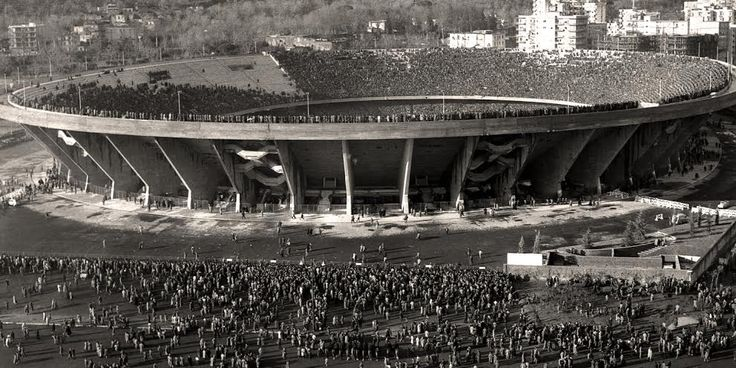 Stadio San Paolo, Naples, Italy, circa 1977 Currently used by S.S.C. Napoli Suggested by Andrew Butler