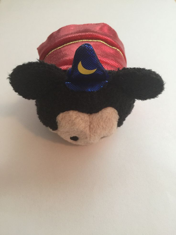 Disney Store Japan Mickey Sorcerer Tsum Tsum Mini Plush 3rd Anniversary New