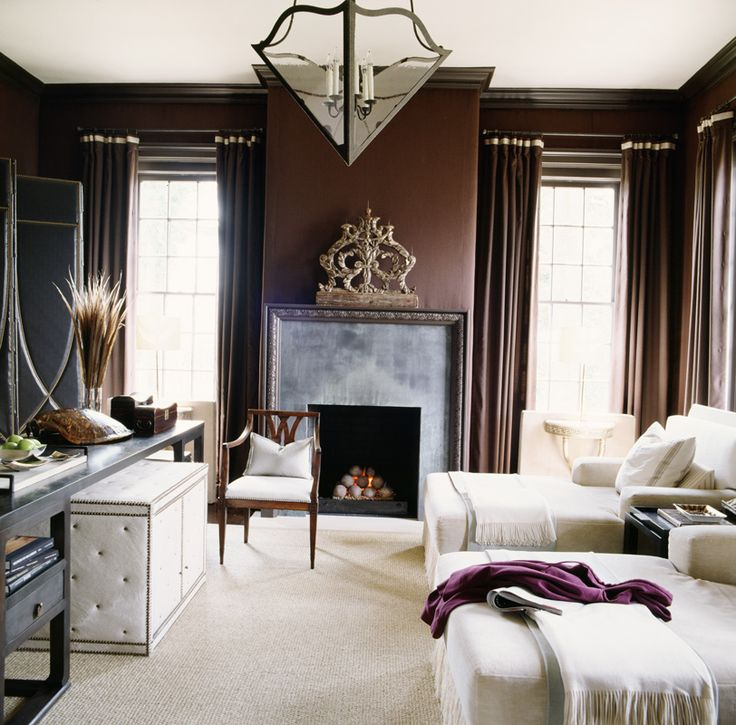 Mocha Colored Walls: McAlpine Tankersley. Fireplace Design. Love The Mocha