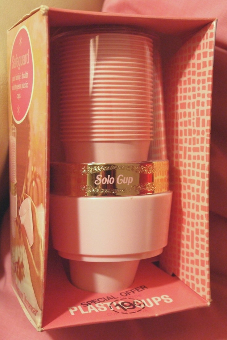 Image Detail For  Retro PINK Bathroom Cup Dispenser By SOLO / NOS By  MODMARGE Part 69