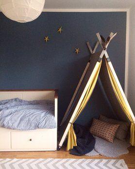 die besten 17 ideen zu tipi kinderzimmer auf pinterest zelt kinderzimmer kuschelecke und. Black Bedroom Furniture Sets. Home Design Ideas