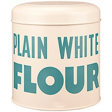 Buy Vintage by Wayne Hemingway Flour Storage Tin Online at johnlewis.com