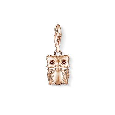 """THOMAS SABO Charm Club  Charm """"Owl""""  Article number: 0989-443-12  CAD 124.00 Rose Gold Inspiration"""