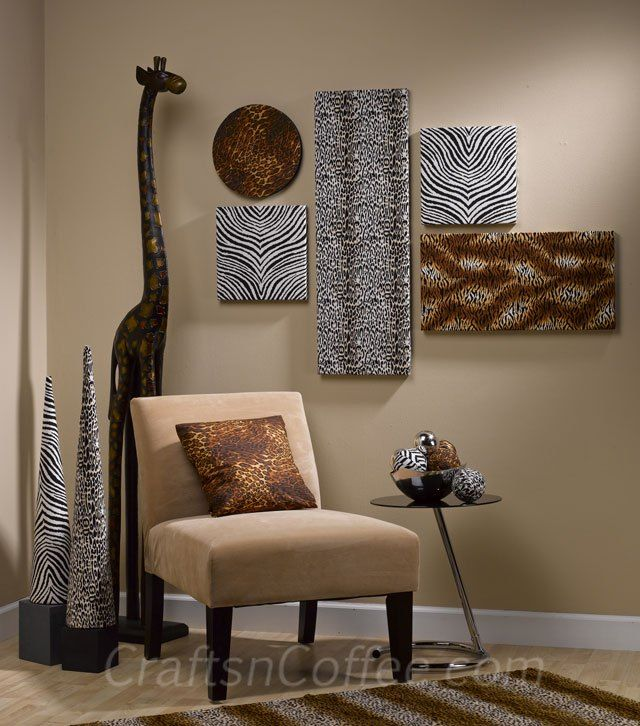 African Safari Home Decor: 76 Best African Inspired Images On Pinterest