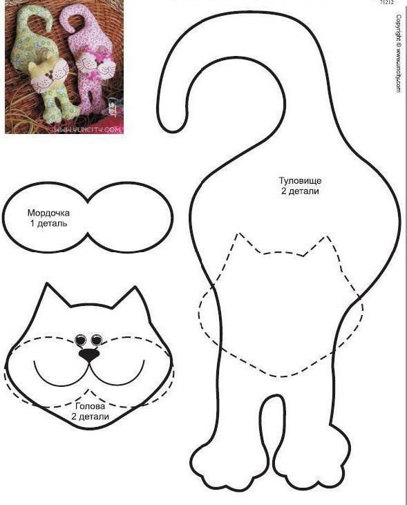 printable paper cats to make decorate