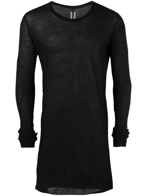 RICK OWENS 롱 티셔츠. #rickowens #cloth #티셔츠