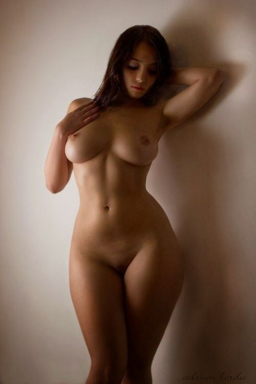 Plus size naked chick