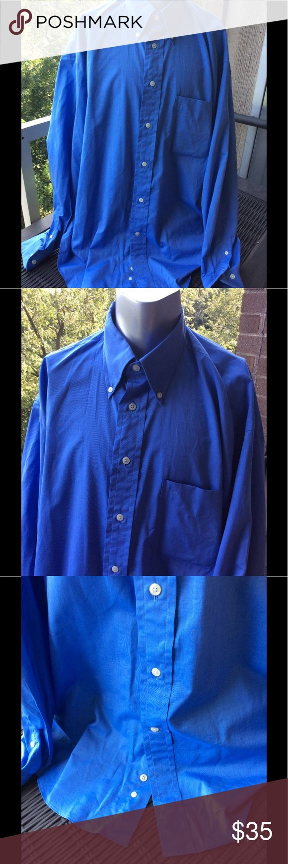 Faconnnable Blue Button Down Shirt XL Faconnable pretty blue collared Button Down shirt. Designed in France, made in the U. S.A. Size XL 💯 % Cotton Faconnable Shirts Dress Shirts