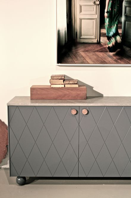 studio karin: Superfront, luxury fronts and details for Ikea cabinets