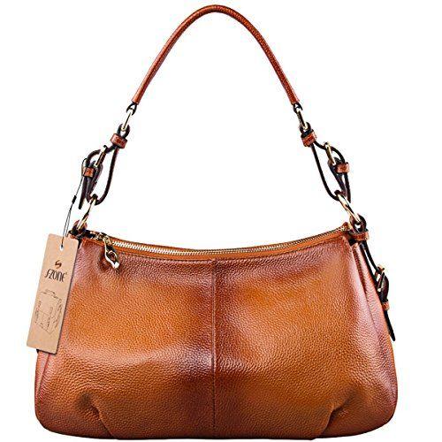 S-ZONE Women Vintage Cow Leather Single Shoulder Top-handle Handbag   Brand:S-ZONE  Department: Wome