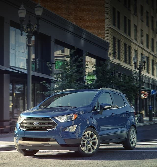 2019 Ford Ecosport Compact Suv Fun Features Big Performance