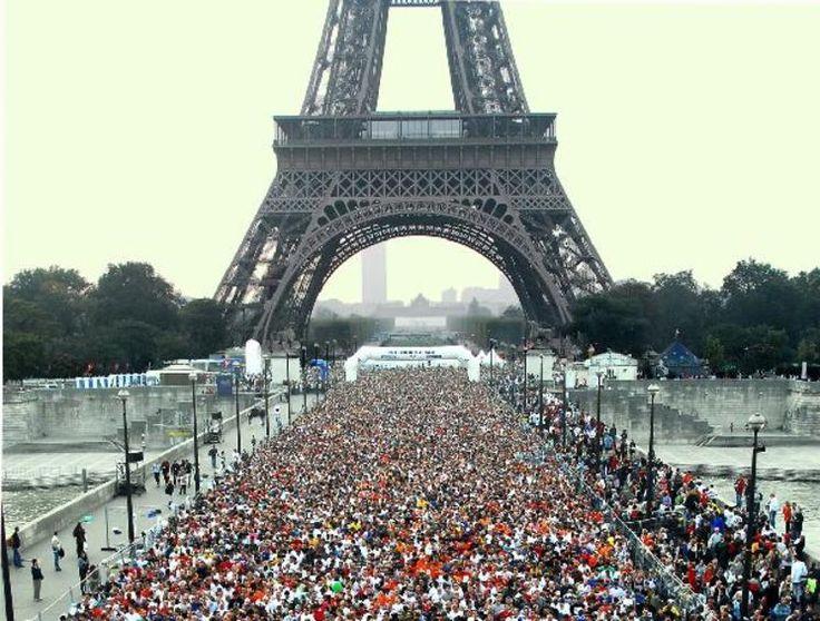 Paris Marathon!