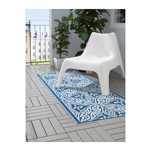 sommar 2016 tapis tiss plat int rieur ext rieur bleu blanc tapis et ikea. Black Bedroom Furniture Sets. Home Design Ideas
