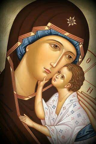 Panagia Mother of God and the Christ Child