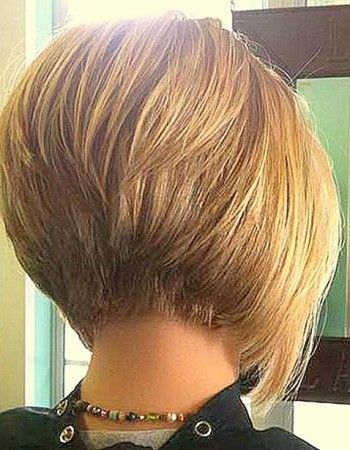 nice Stacked Bob Haircut | Bob Hairstyles 2015 - Short Hairstyles for Women