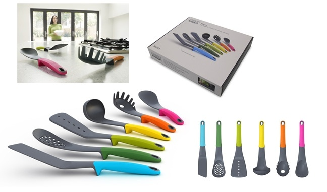 They're the weighted utensils so they don't touch the counter...I want these!!