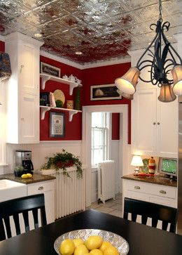 Kitchen renovation in historic home - traditional - kitchen - other metro - by Colorful Living Interiors by Luella