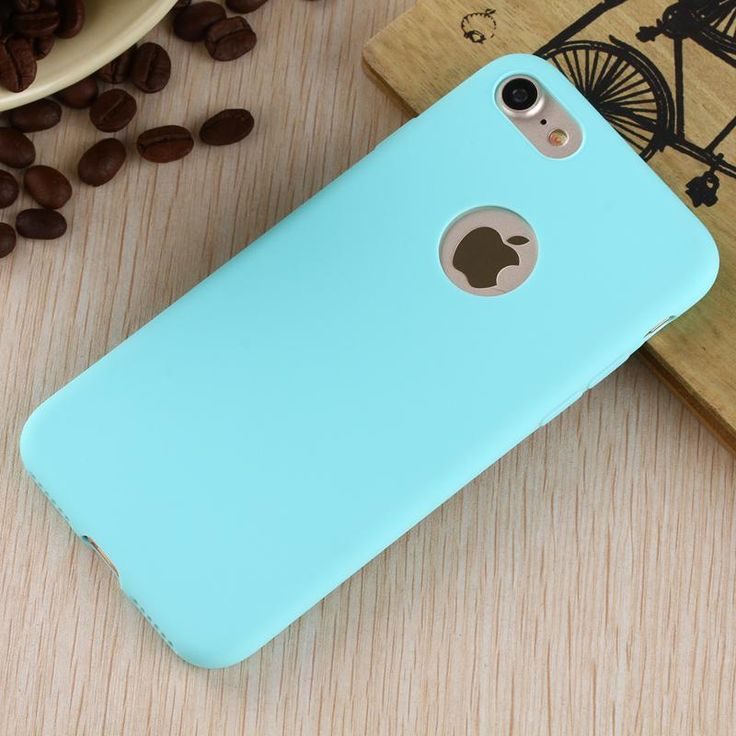 Blue Matte iPhone 7 Case