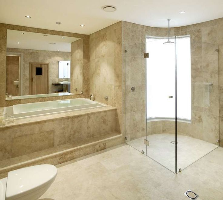 This Is How I Want My Shower. Frameless Doors And No Lip To Step Over. Travertine  TileCeramic ... Part 11