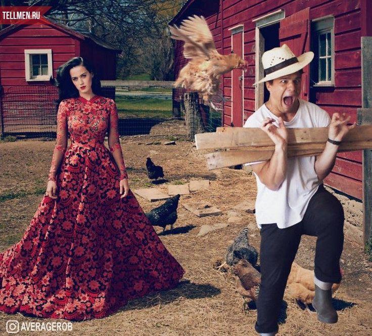 Убегает от курицы (фото)