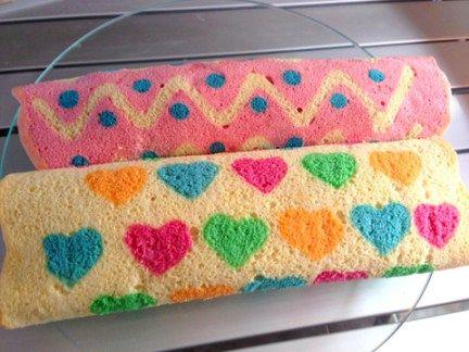 Gâteaux roulés décorés wooloo