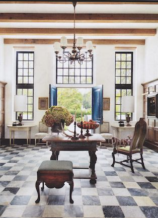 Portobello Design: Bobby McAlpine Light and Old World Refinement: A South African Cape Dutch Home