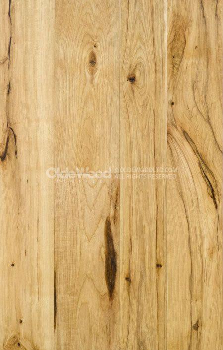 Ampla Plank Hickory Flooring | Hickory madeira Piso | Olde Madeira