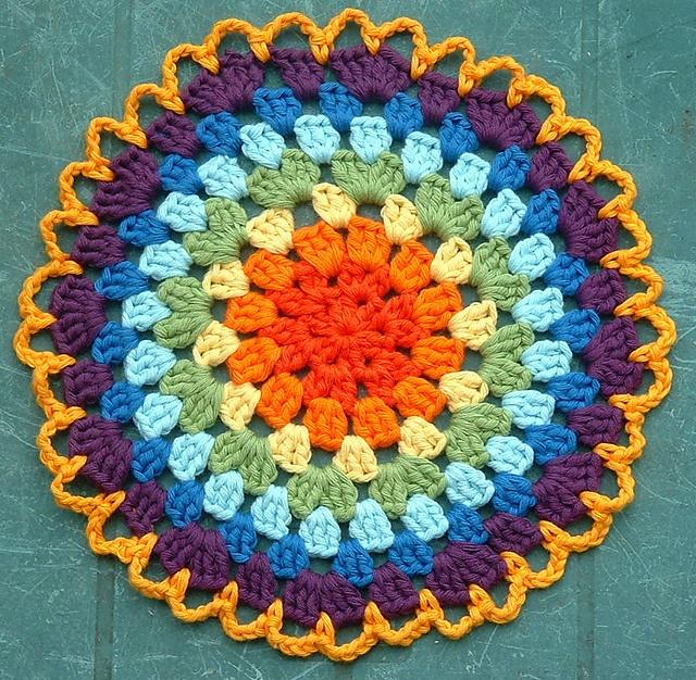 Mandala: Mandala Inspiration, Crochet Mandala