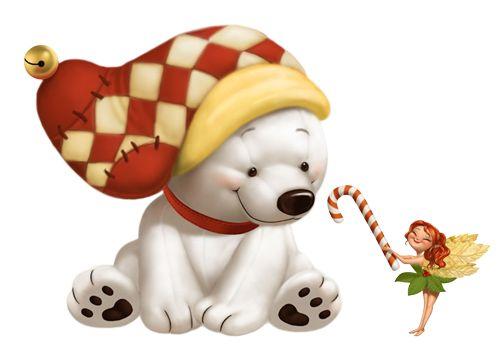 Hvid bjørn clipart