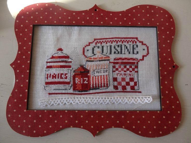 17 best images about point de croix finitions cross stitch finish on pint - Histoire de la cuisine ...