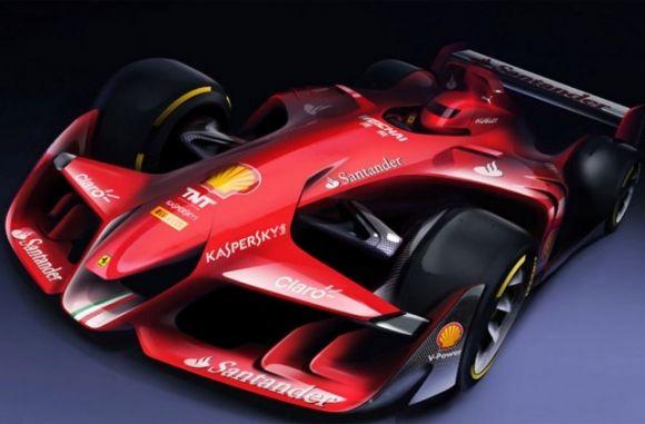 Komisi FIA Dulu Konsep Mobil F1 Futuristik - Racing Planet - Racing 4 Autonews | 4W Motorsport News