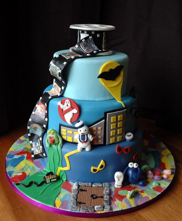 80 S Themed Birthday Cake Birthday Party Ideas