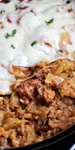 Crock Pot Cabbage Roll Casserole Recipe ~ Amazing... you won't be disappointed!