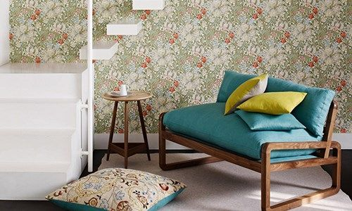 The Original Morris & Co - Arts and crafts, fabrics and wallpaper designs by William Morris & Company | Products | British/UK Fabrics and Wallpapers | Mary Isobel (DM3W214728) | Archive III Wallpapers