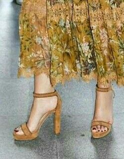 Maxima's shoes. Wow