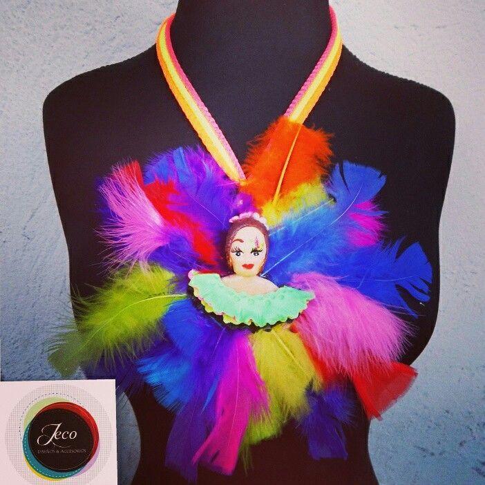 Collar carnavaleros