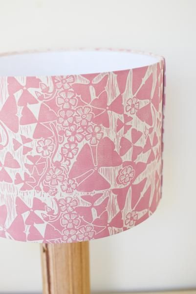 Handmade Lampshade Inspired By Oxalis Triangularis