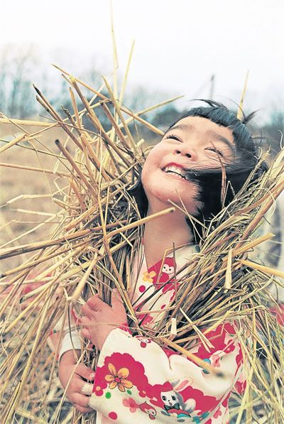 """Mirai-chan"", or Little Miss Future  by photographer Kotori Kawashima"