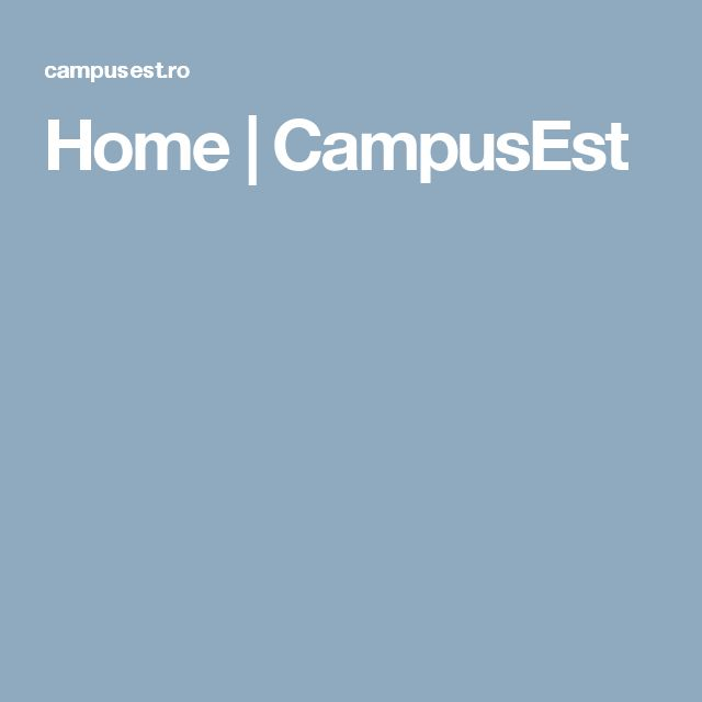 Home | CampusEst