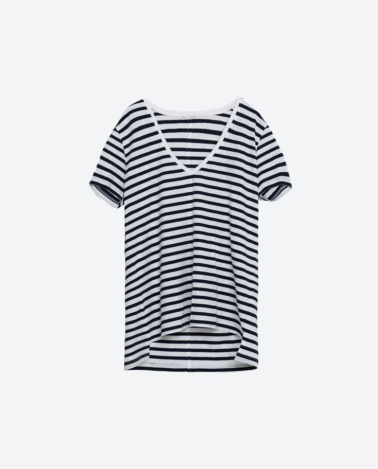 Image 6 of ORGANIC COTTON T-SHIRT from Zara