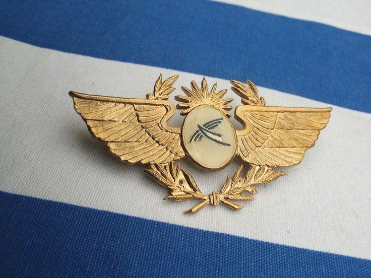 PLUNA LINEAS AEREAS URUGUAYAS Airlines Pilot Cap Airline Aviation Airways badge