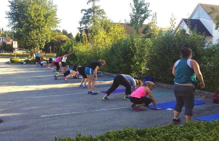Body Buster Fitness Langley: Outdoor Boot Camp Fitness