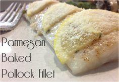 Mom Mart: Parmesan Baked Pollock Fillet Recipe