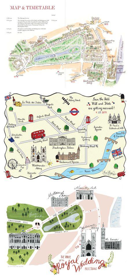 The House That Lars Built Royal wedding map - bottom image.