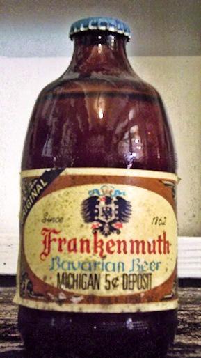 Vintage Frankenmuth Beer Bottle. $10.00, via Etsy.